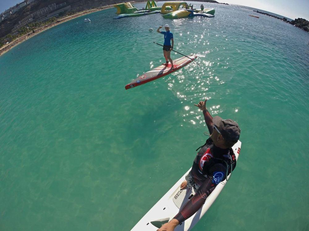 SUP tour playa amadores Gran Canaria