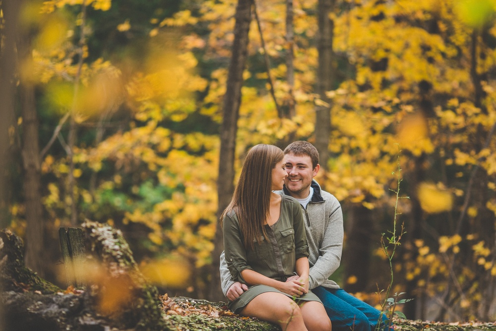 Fall Engagement Session Louisville/Southern Indiana Wedding Photographer