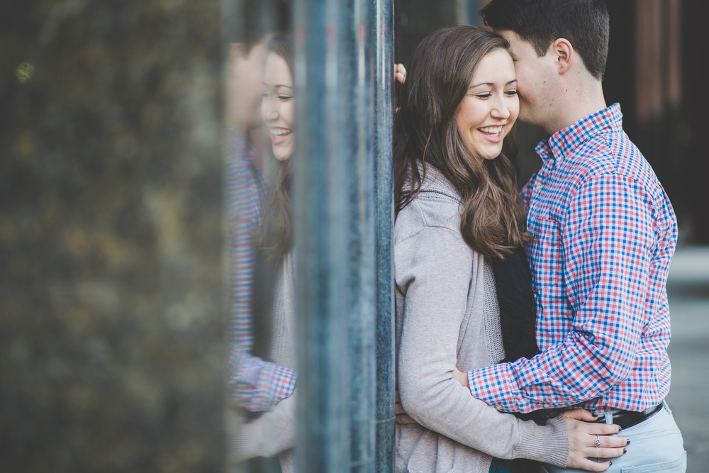 Louisville Wedding Photographer | Downtown Engagement