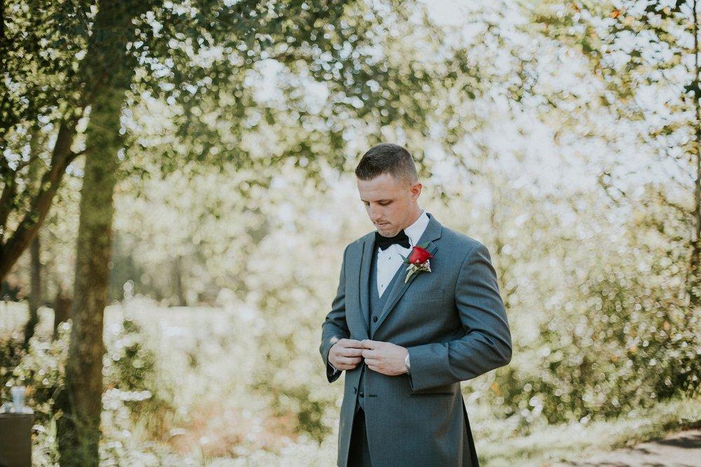 Fuzzy Zoeller's Covered Bridge Wedding