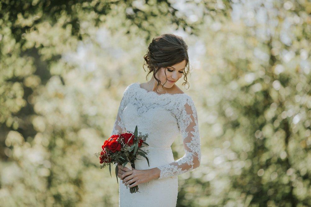 Fuzzy Zoeller's Covered Bridge Wedding and Bride