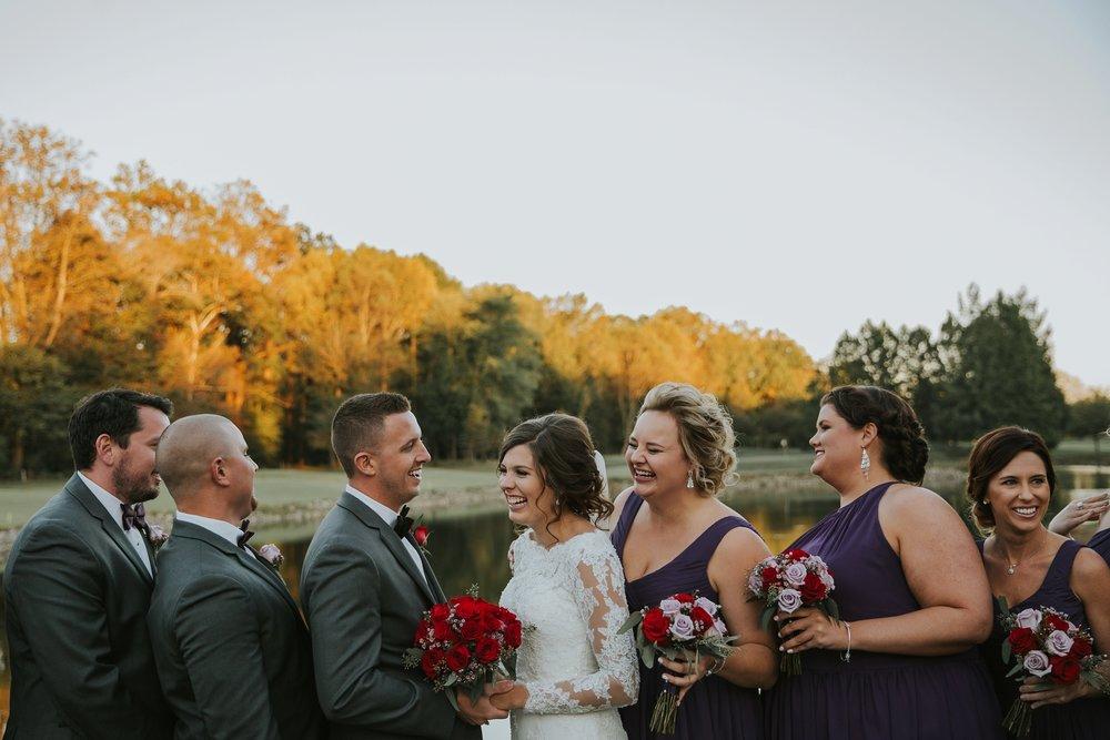Indiana Country Club Wedding