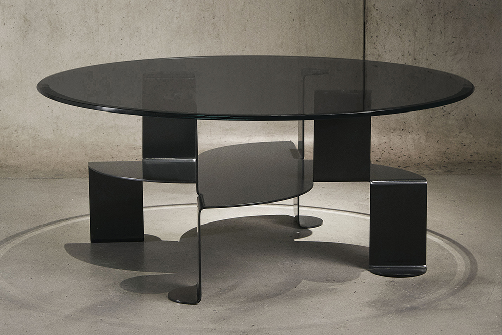 Aspa Coffee Table by Pedro Ramírez Vázquez for Luteca