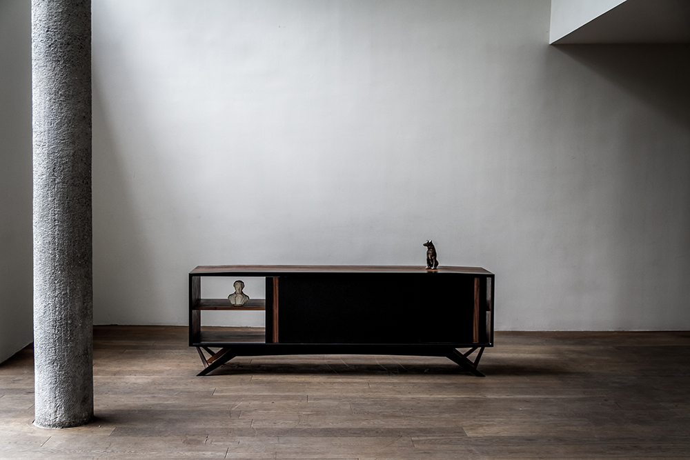 Octanov Cabinet by Alexander Andersson for Luteca