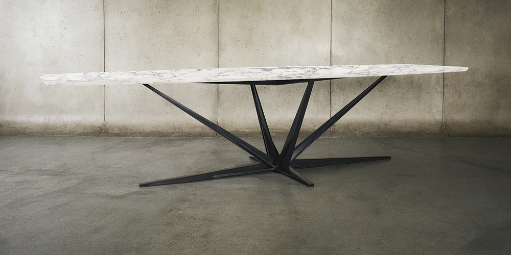 Agave Dining Table by Alexander Andersson for Luteca. www.luteca.com