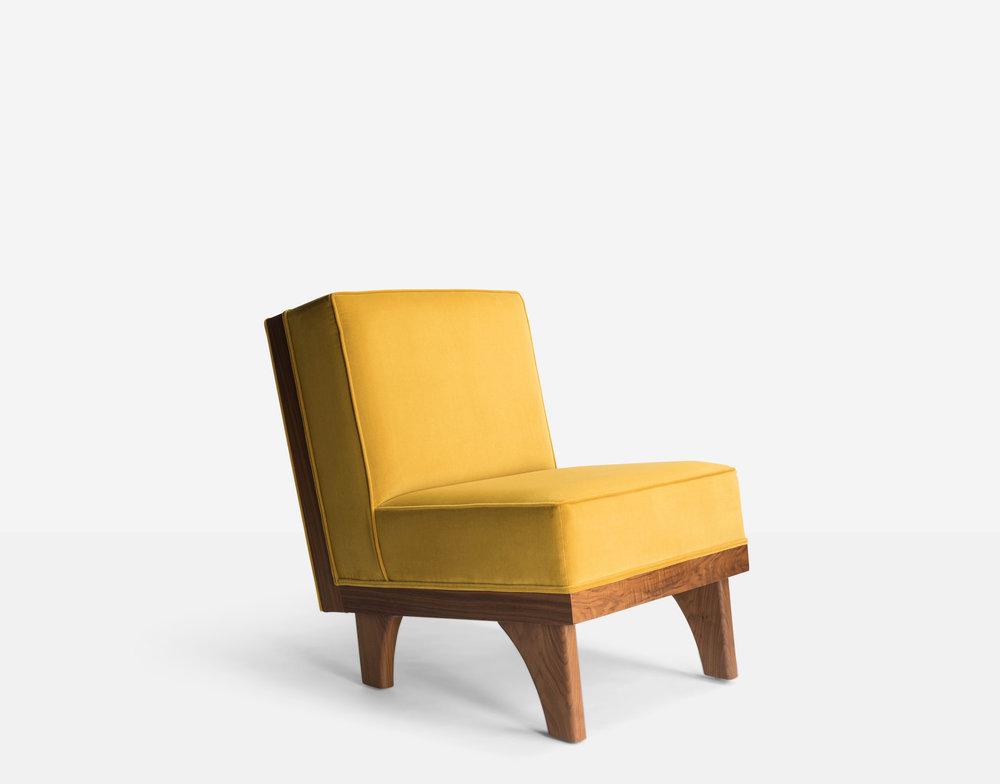 Luteca_MvB_Line-Lounge Chair_Yellow-Velvet_Walnut_FP-W.jpg