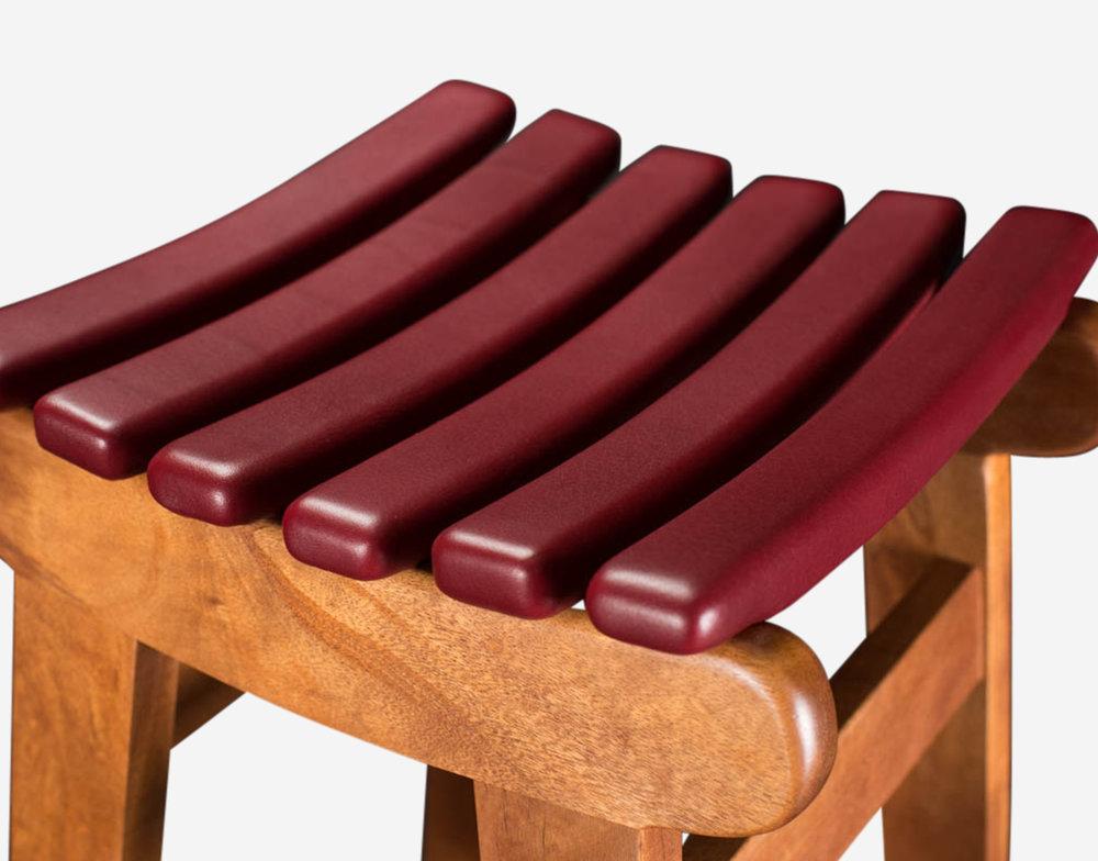 Luteca_MvB_San Miguelito-Bar-Stool_Mahogany-Red-Leather_D-W.jpg
