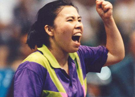 Deng Yaping Wins english.cri.cn/