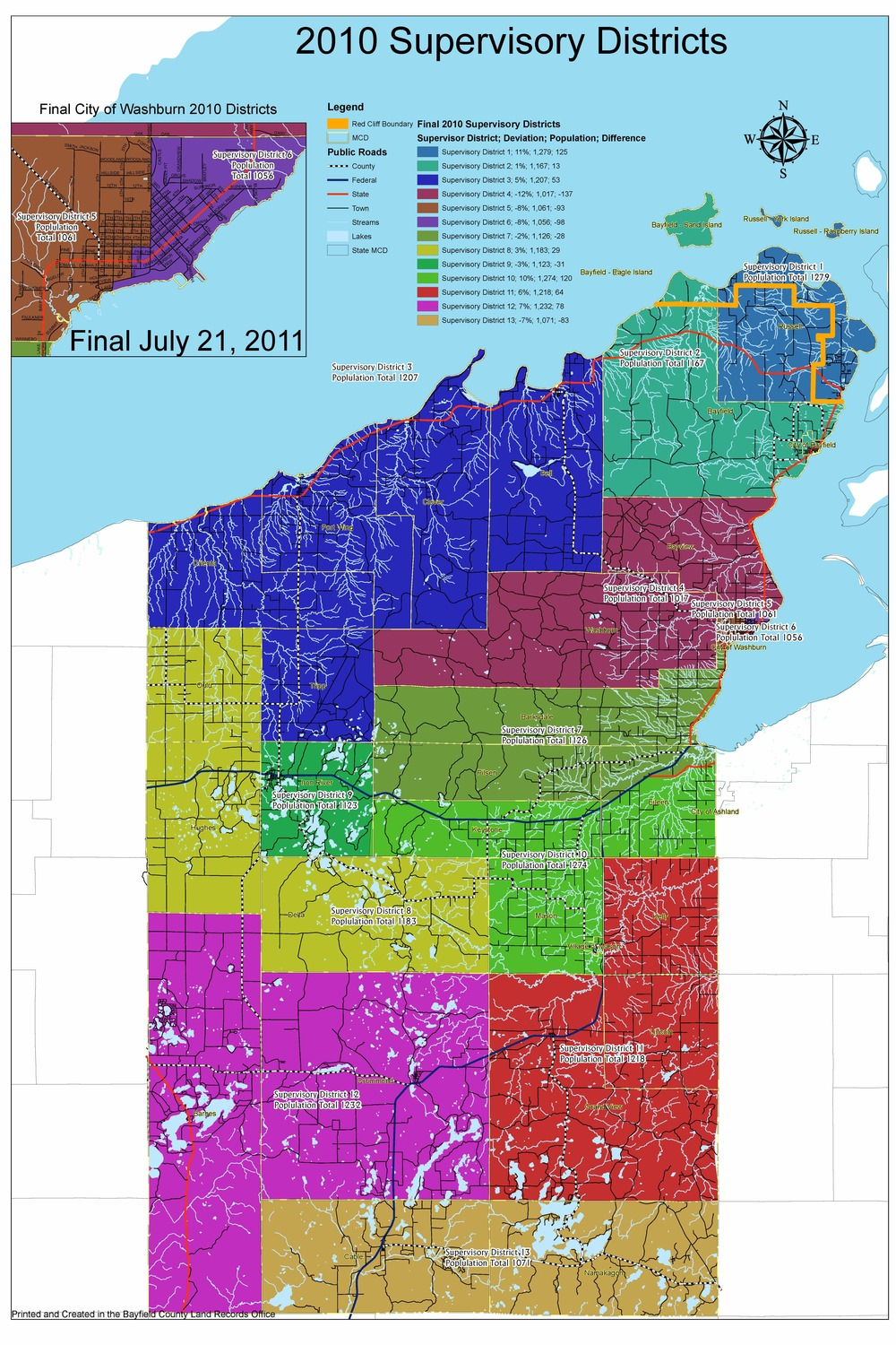 Click to Open Map of Districts