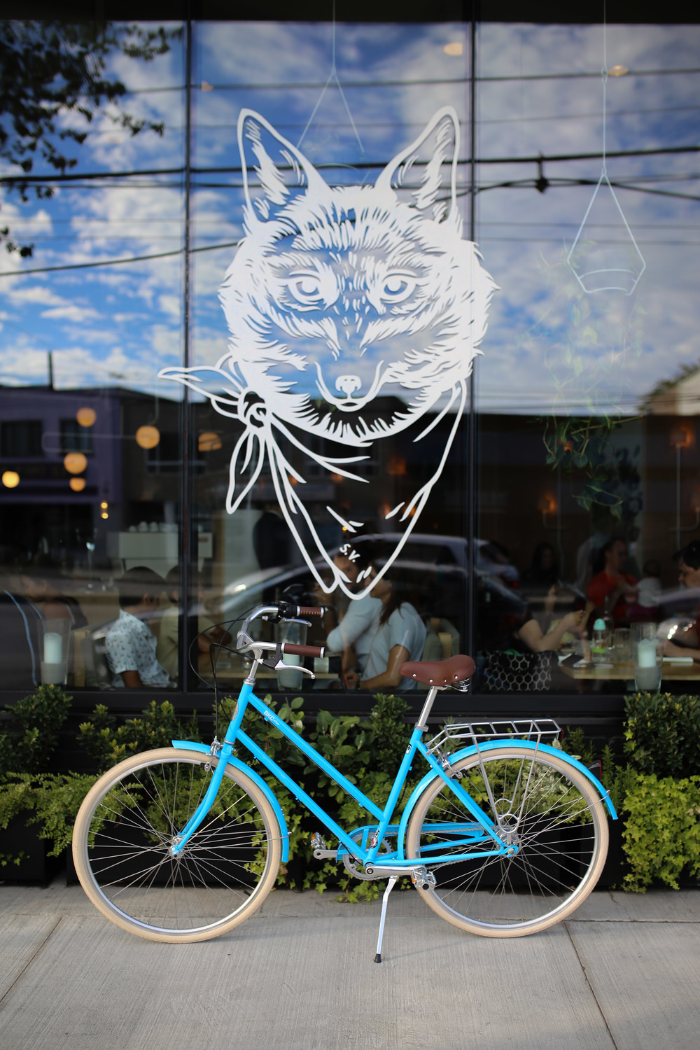 Brooklyn Bicycle Co.'s Willow 3 in Columbia Blue