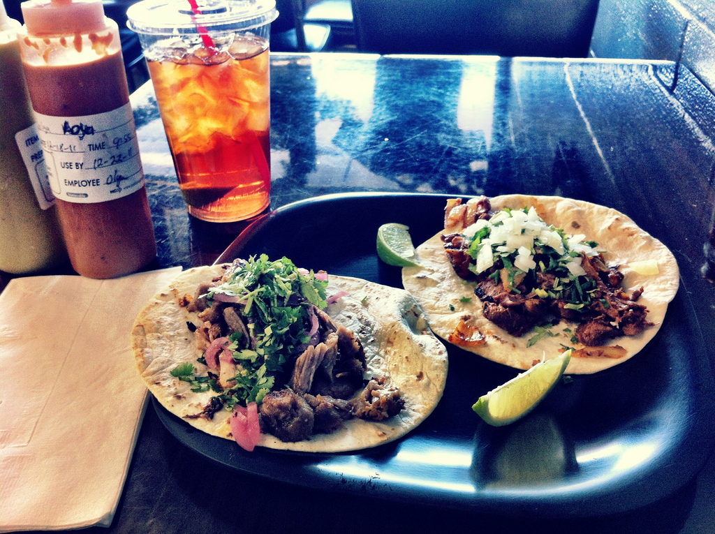 Tacos from Papalote    Austin, TX 2011