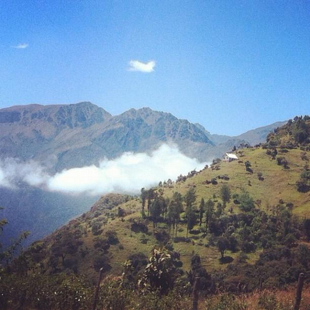 En route to Cuenca, Ecuador - August, 2012