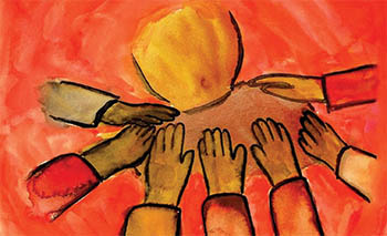 Image found on http://thecripplegate.com/falling-pastors/laying-on-of-hands-ordination/