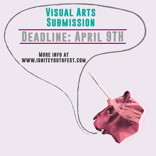 Hey!  Don't want to perform on stage? You can submit for a chance to be in the art gallery at @thecultch #youth #art #gallery #visualarts