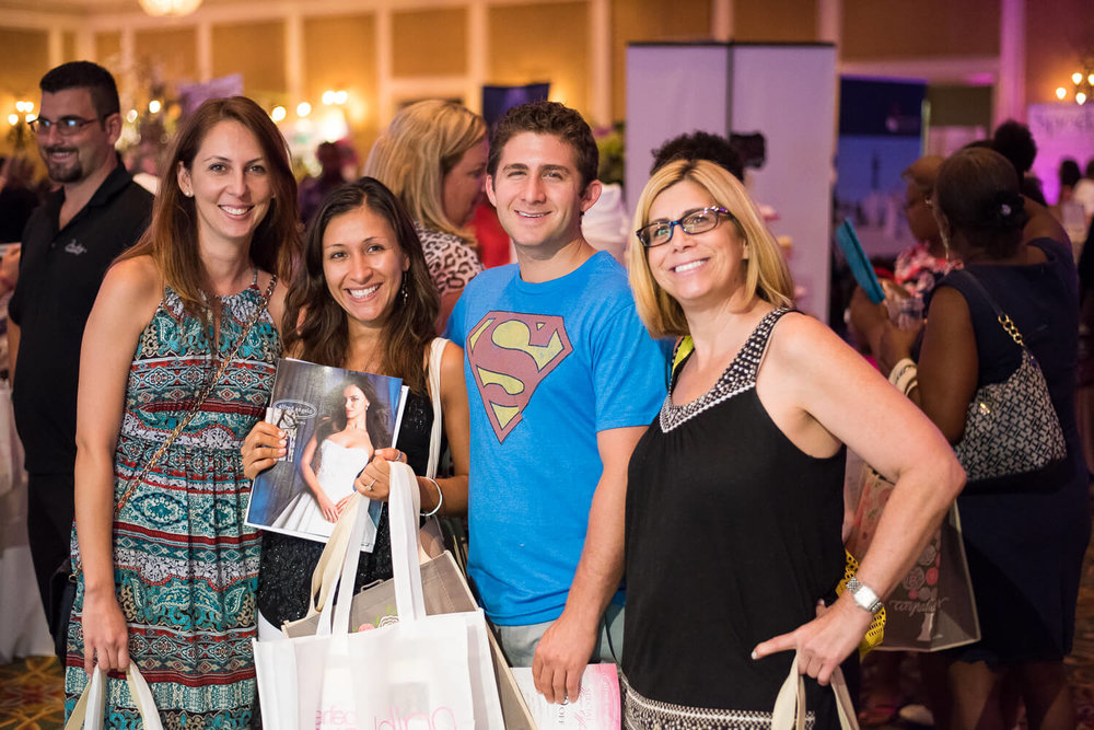 Guests at the My Perfect Wedding Guide Bridal Show