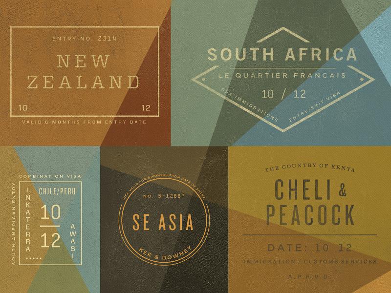 trendgraphy: Stamps by Andrew Littmann Follow Trendgraphy on twitter: @Trendgrafeed