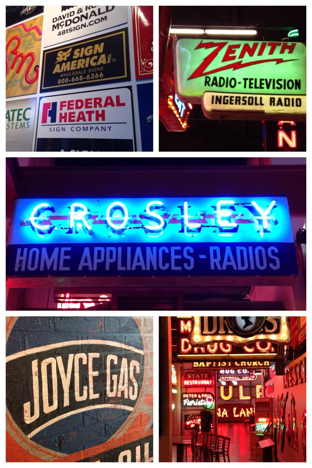 American Sign Museum takeaway N.2 #signage #cincinnati #typography #neon