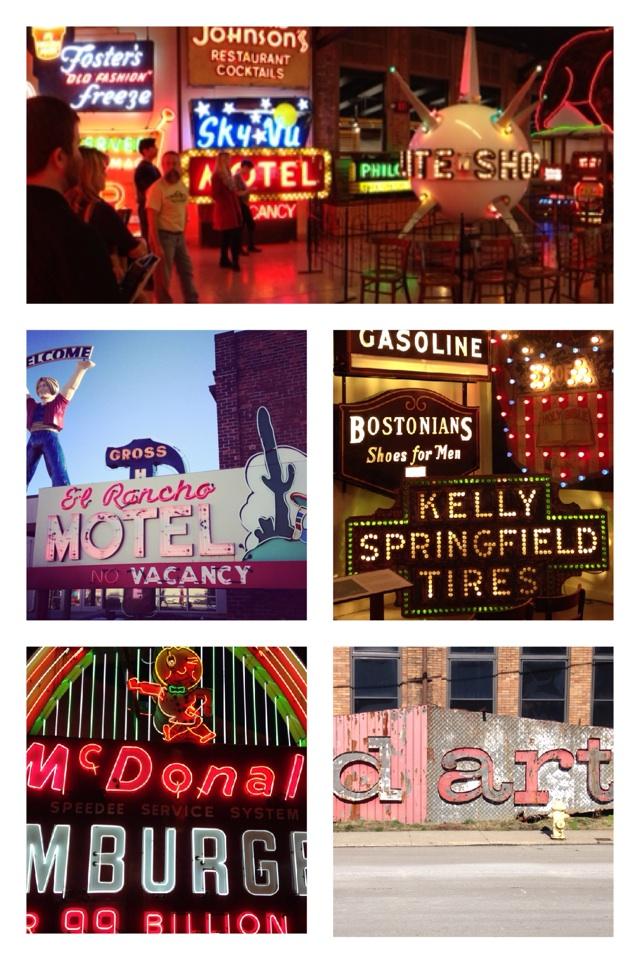 Today's takeaways from the American @SignMuseum N.1 #neon #typography #signage #cincinnati