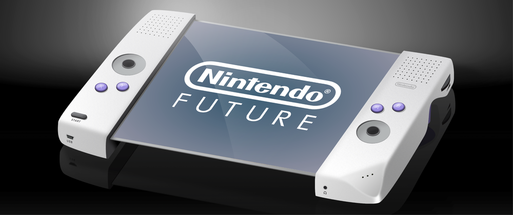 An exploration of the future of Nintendo with   a  ugmented reality, flexible screens, and holograms!