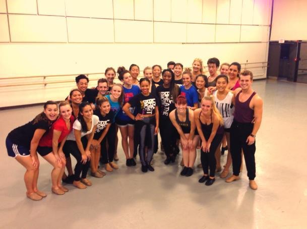 University of California, Irvine Dance Majors- Jazz Dance with Saleemah E. Knight