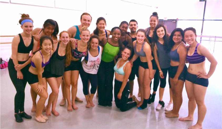 University of California, Irvine Summer Dance Intensive- Jazz Dance with Saleemah E. Knight