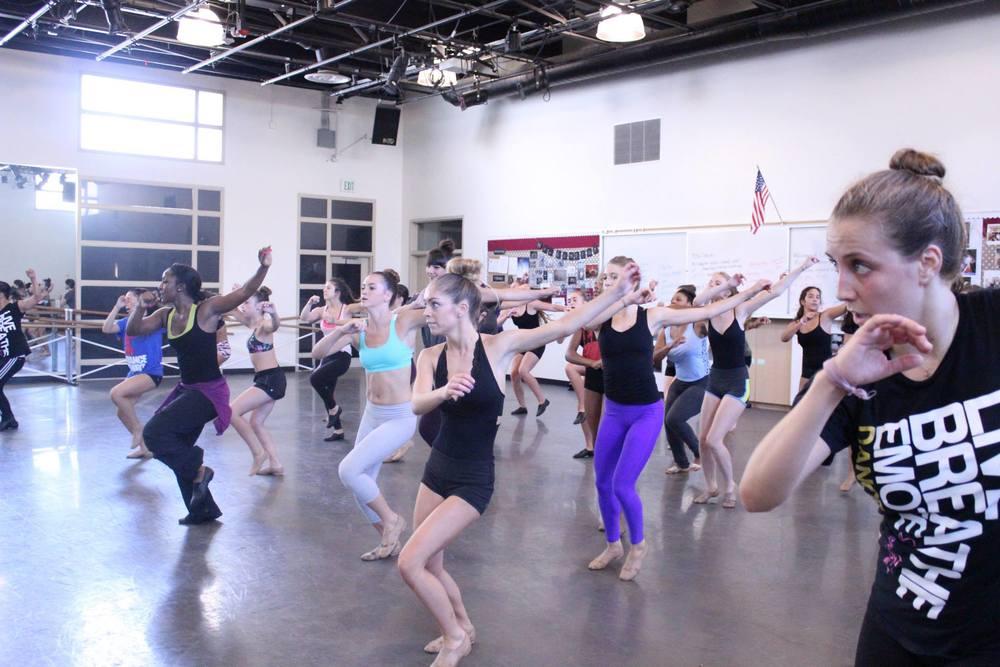 Laguna Dance Festival 2014- Jazz Dance Masterclass with Saleemah E. Knight