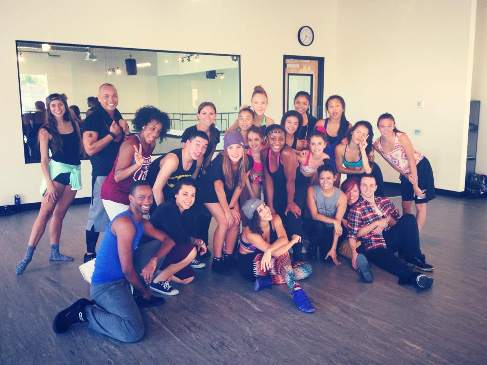 The Rock Center for Dance- Jazz Funk Masterclass with Saleemah E. Knight