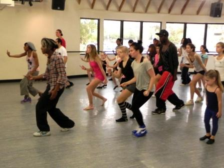 Step Up and Dance - Jazz Funk Masterclass with Saleemah E. Knight