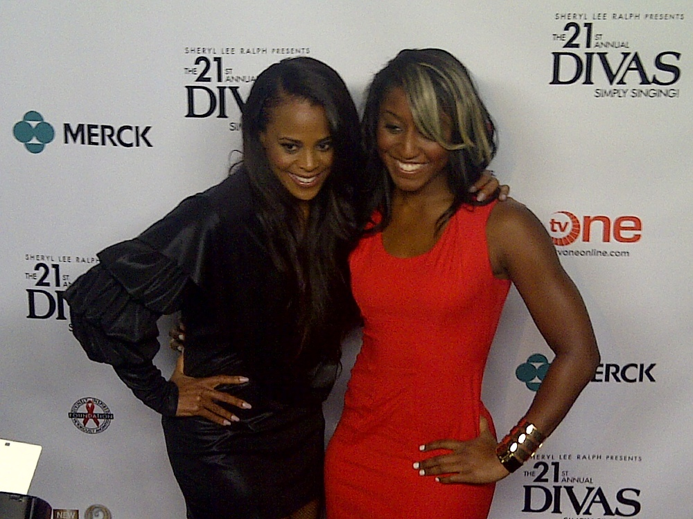 "Sheryl Lee Ralph's ""Divas Simply Singing"" Red Carpet- Saleemah E. Knight and Laurie Ann Gibson"