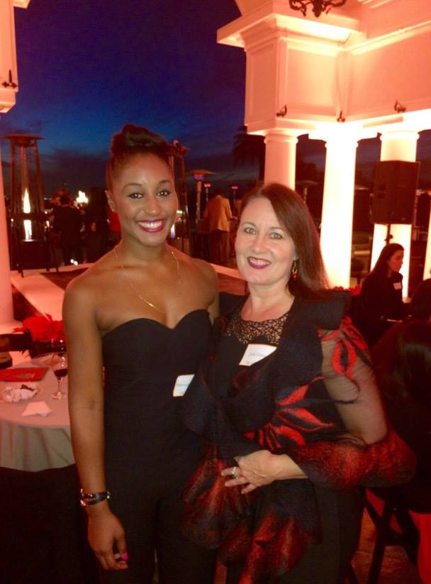USC Kaufman Dinner Gala- Saleemah E. Knight and Jodie Gates