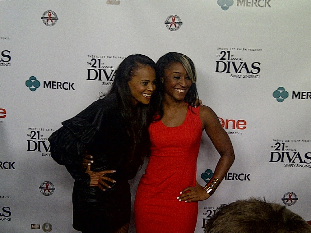 """Divas Simply Singing"" Red Carpet-Saleemah E. Knight and Laurie Ann Gibson"