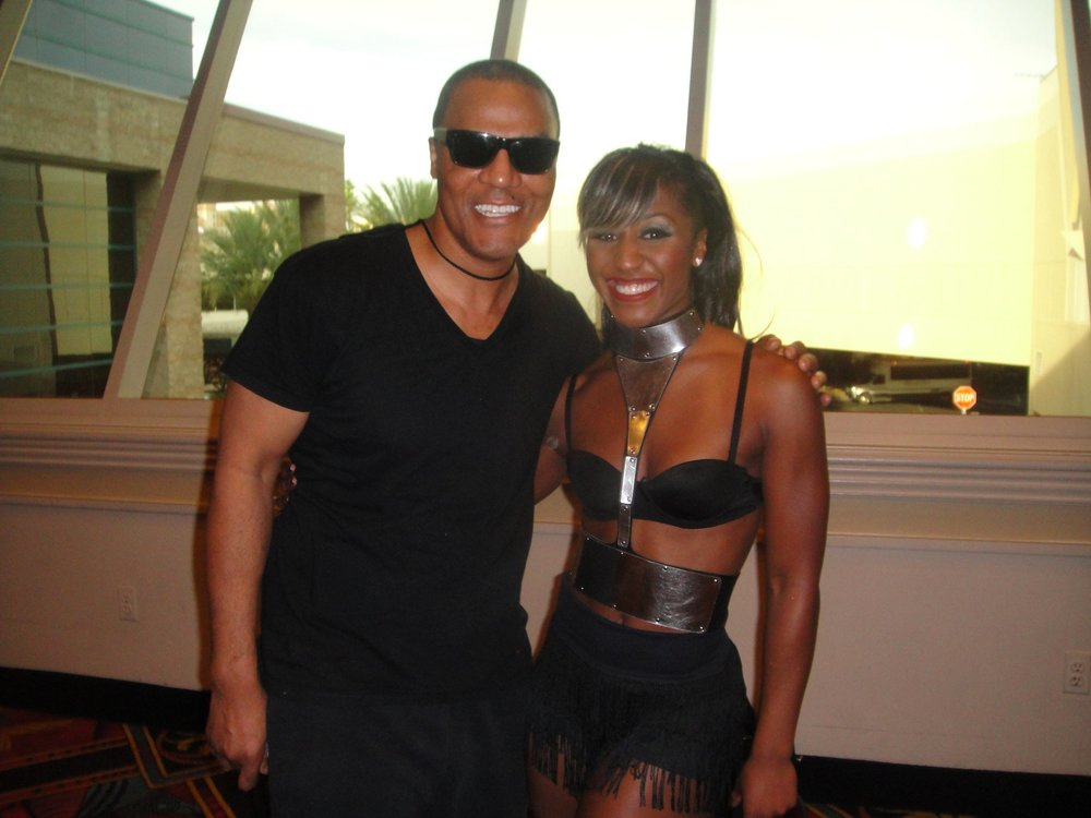Saleemah E. Knight and Frank Gatson backstage for the Beyonce Billboard Music Awards Performance.jpg
