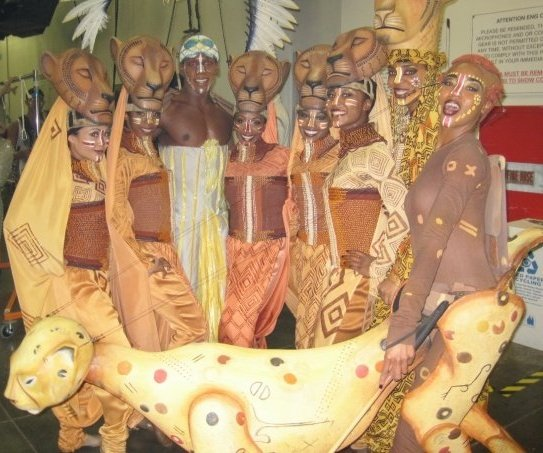 Saleemah E. Knight in the cast of The Lion King Broadway Musical at ABC's Dancing with the Stars.jpg
