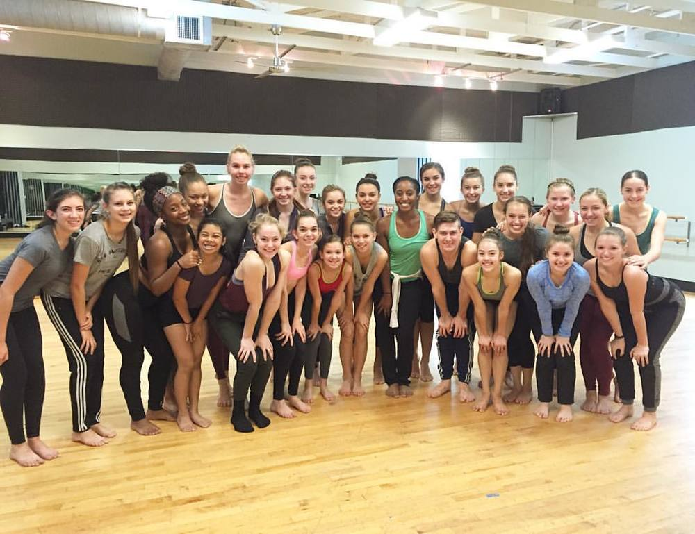 Dance Industry Performing Arts Center- Jazz Dance Master Class with Saleemah E. Knight