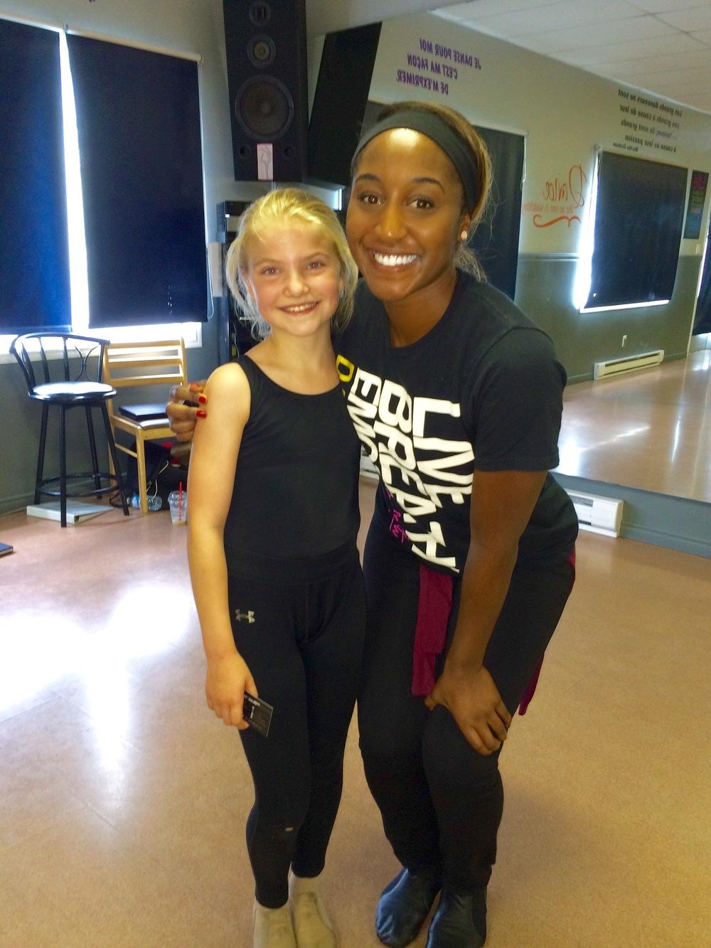 Danse Acadie Summer Intensive 2015- Jazz Dance Masterclass Series with Saleemah E. Knight