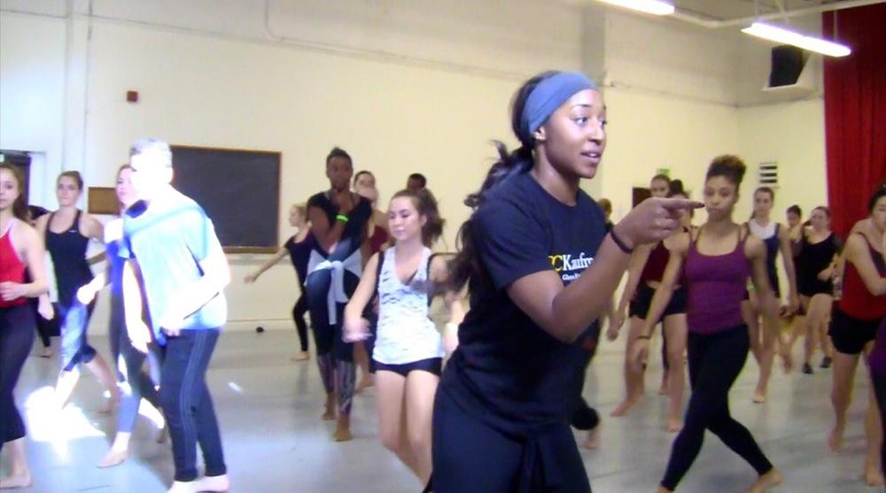 Discover USC 2015- Jazz Dance Master Class with Saleemah E. Knight