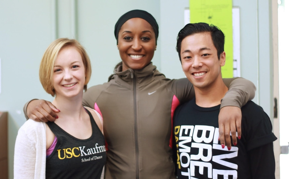 Guest Master Class with Saleemah E. Knight at Loyola Marymount University