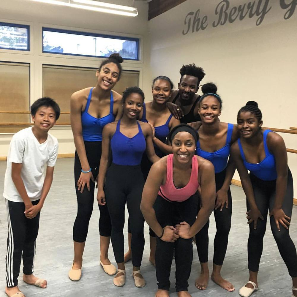 Guest Contemporary Jazz Class at Debbie Allen Dance Academy with Saleemah E. Knight