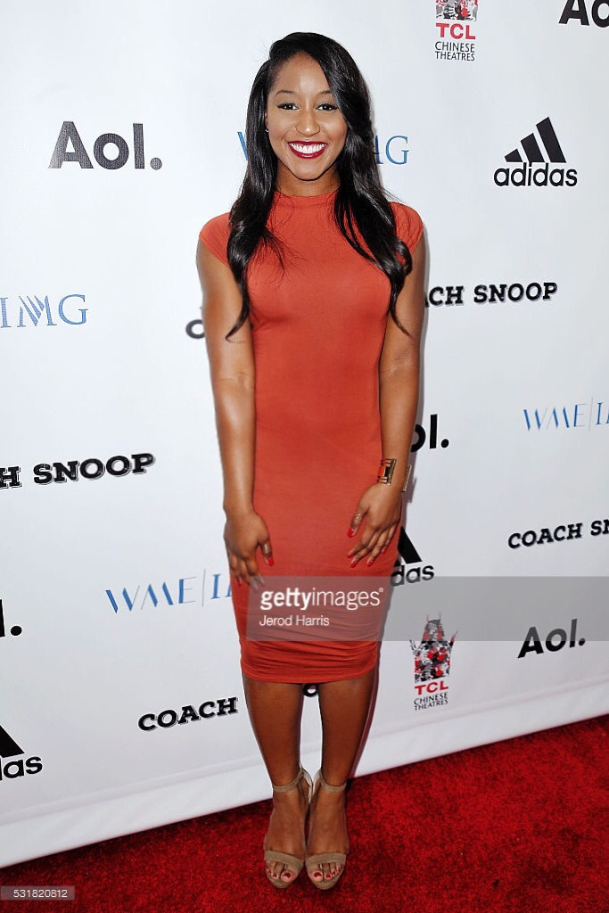 "Saleemah E. Knight at the ""Coach Snoop Premiere"""