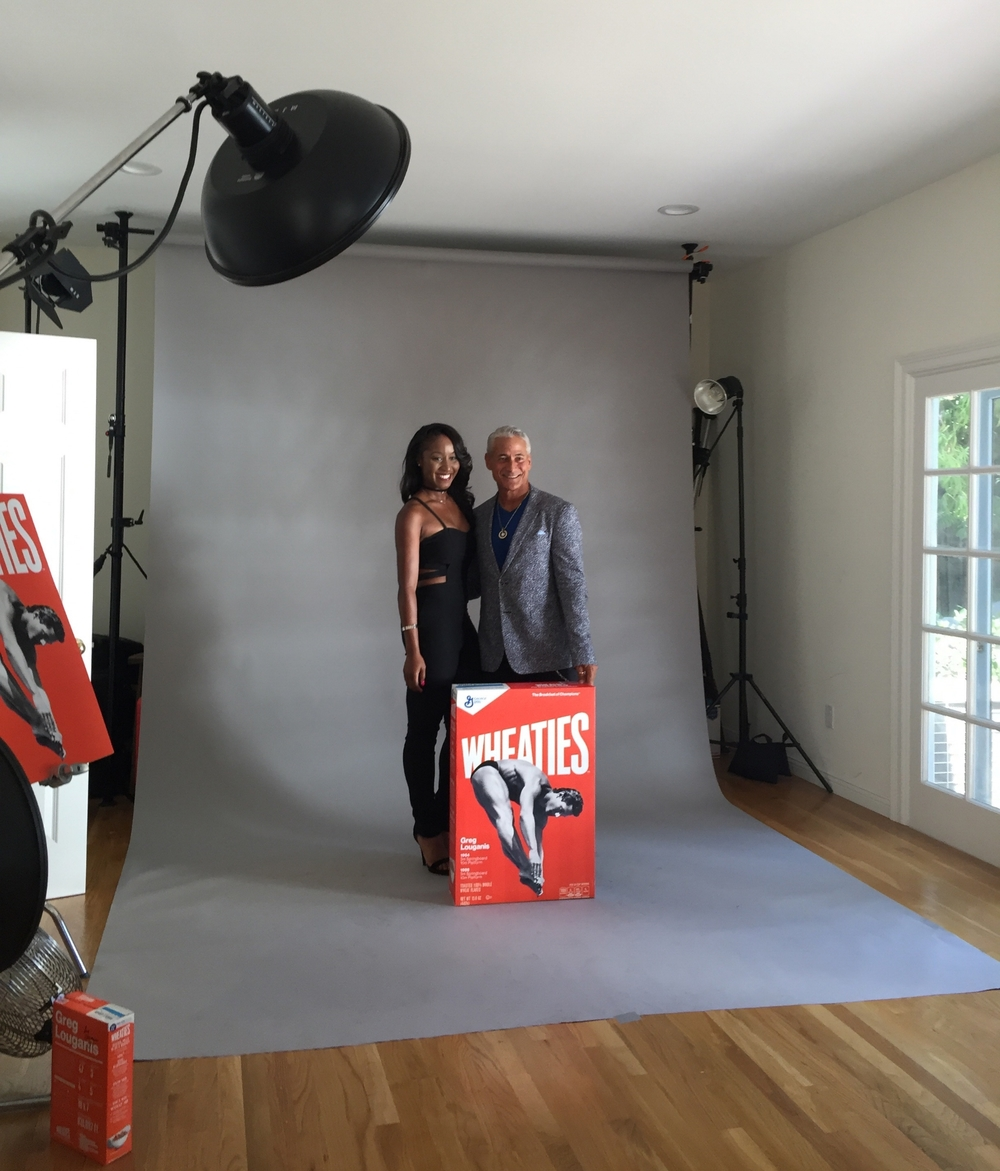 Greg Louganis Pre-Espys Wheaties Brand Cereal Release Party