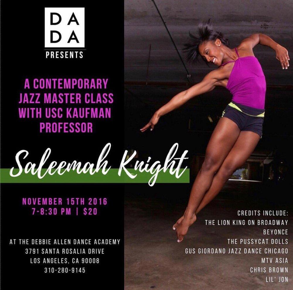 Guest USC Kaufman Master Class at Debbie Allen Dance Academy