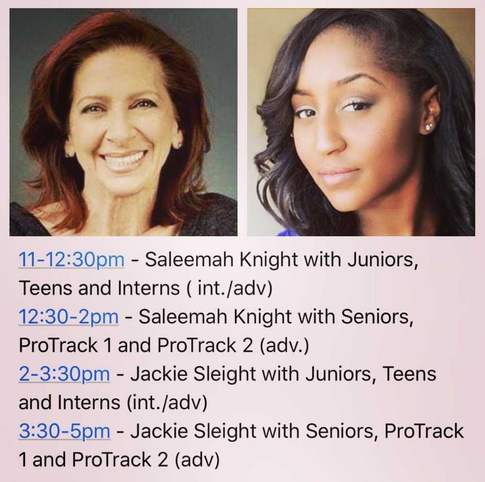 Michelle Latimer Dance Academy 2017- Guest Master Class with Saleemah E. Knight