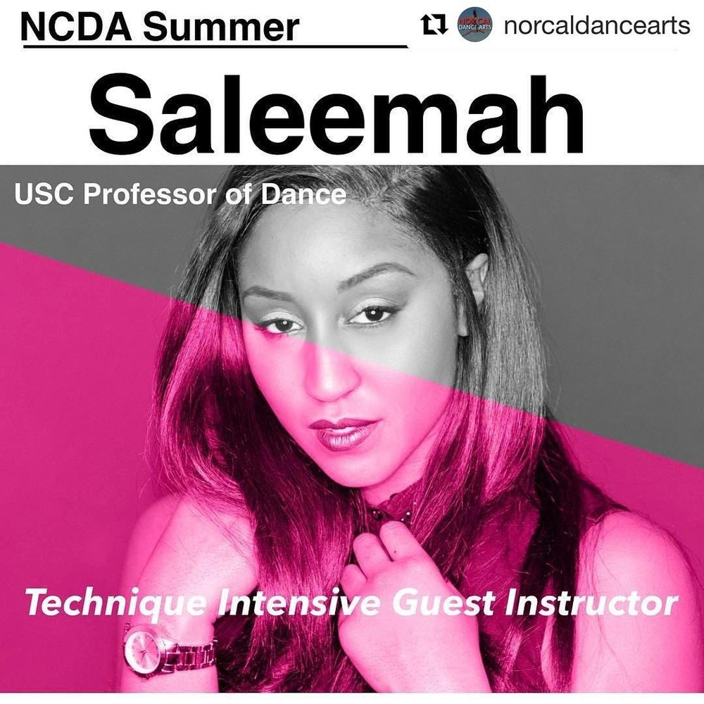Nor Cal Dance Arts 2017- Guest Instruction by Saleemah E. Knight