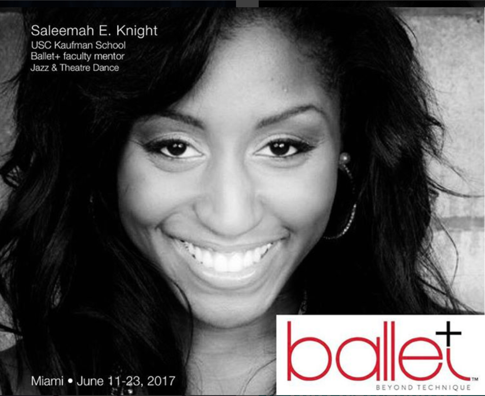 Ballet + (Beyond Technique)- Guest Master Instructor/ Faculty Mentor