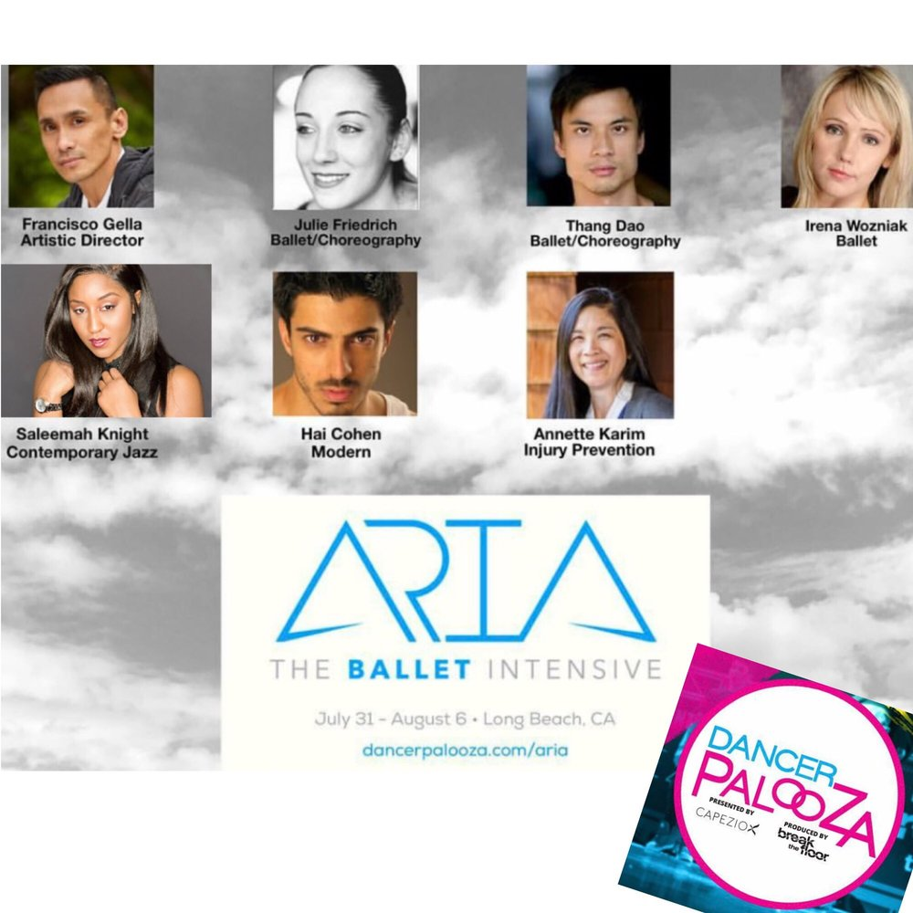 Dancer Palooza/ Aria Ballet Intensive 2017
