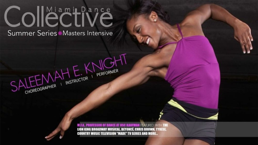 Miami Dance Collective Summer Series Master Intensive