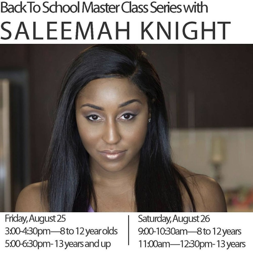 Creative Arts Academy- Guest Contemporary Jazz Master Class Series with Saleemah E. Knight