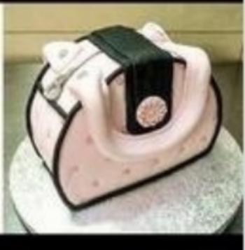 Class 3 -  Evening Session.    Fondant Skills.   Chanel Inspired Purse Cake