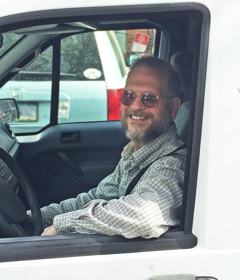 KEVIN You may have seen Kevin, Long Stems' delivery man, driving by in our bright white van or delivering a breathtaking arrangement to your door. He also happens to be a very talented artist with a wide variety of interests and hobbies, including music and travel.