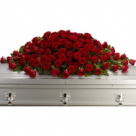 Greatest Love Casket Spray $430 -